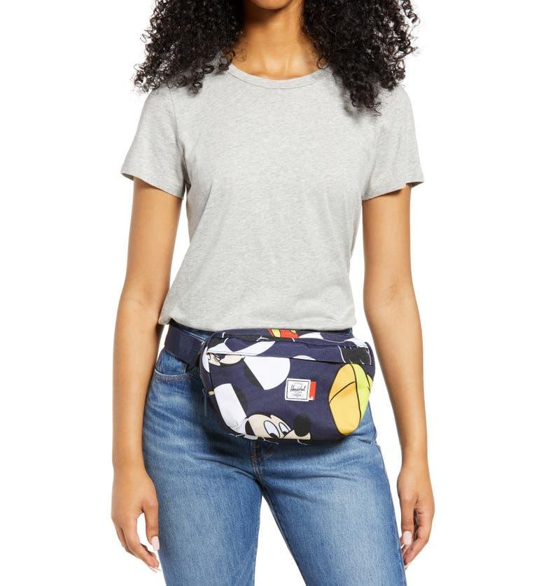 Disney x Herschel Supply Co. Nineteen Mickey Mouse Print Belt Bag