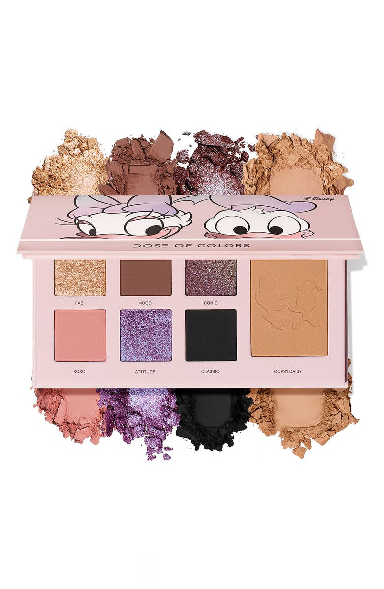 Disney x Dose of Colors Donald & Daisy Eyeshadow & Bronzer Palette