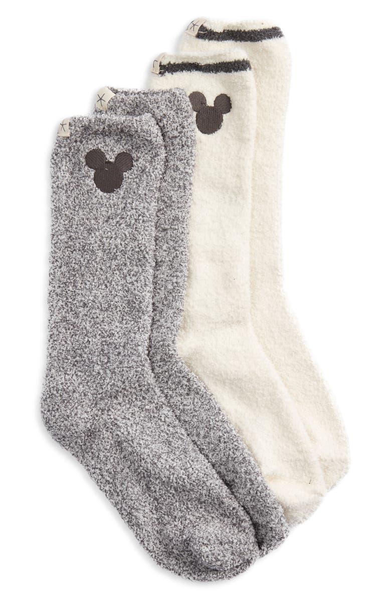 Disney x Barefoot Dreams Cozychic Classic Disney Crew Socks