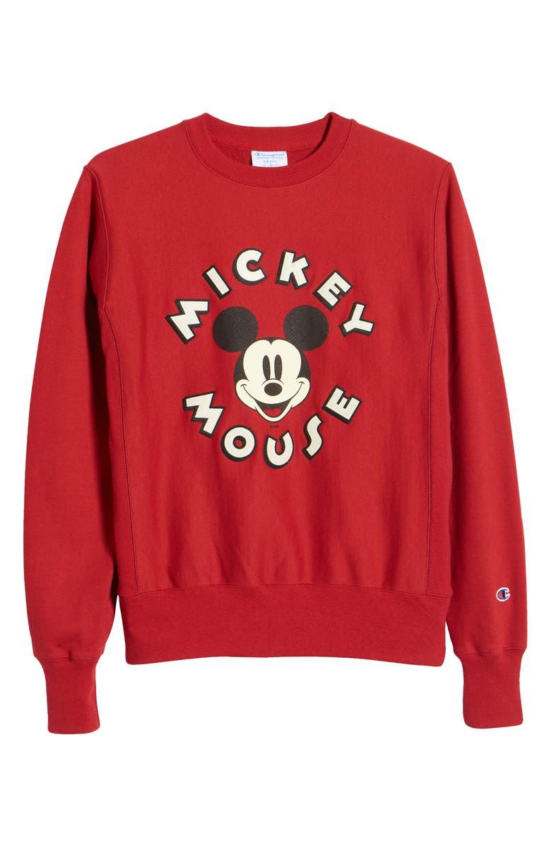 Disney x Champion Mickey Mouse Graphic Sweatshirt