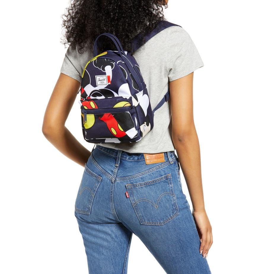Disney x Herschel Supply Co. Mini Nova Mickey Mouse Print Backpack