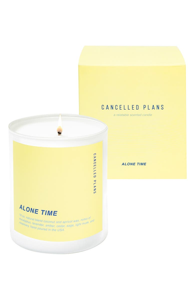Cancelled Plans Alone Time Candle