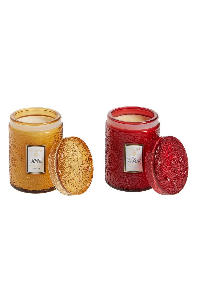 Voluspa Mini Jar Candle Duo