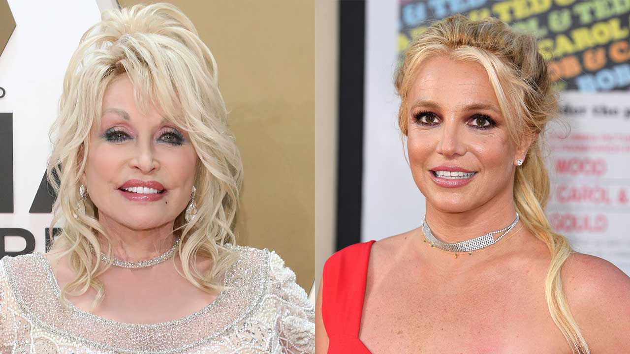 Dolly Parton and Britney Spears