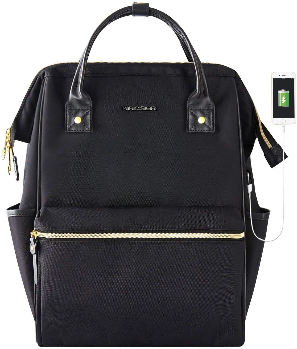 Laptop bag with USB port