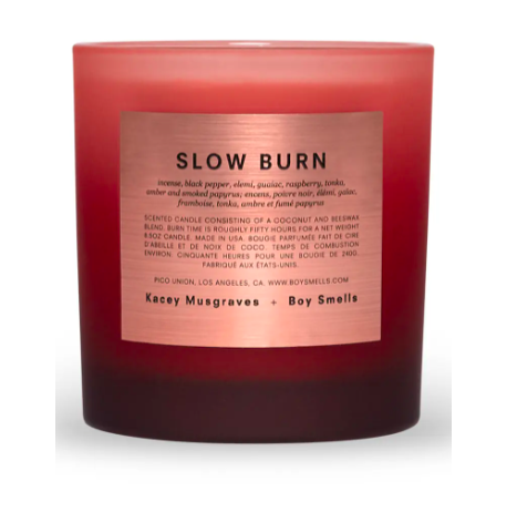 Boy Smells x Kacey Musgraves Slow Burn Scented Candle