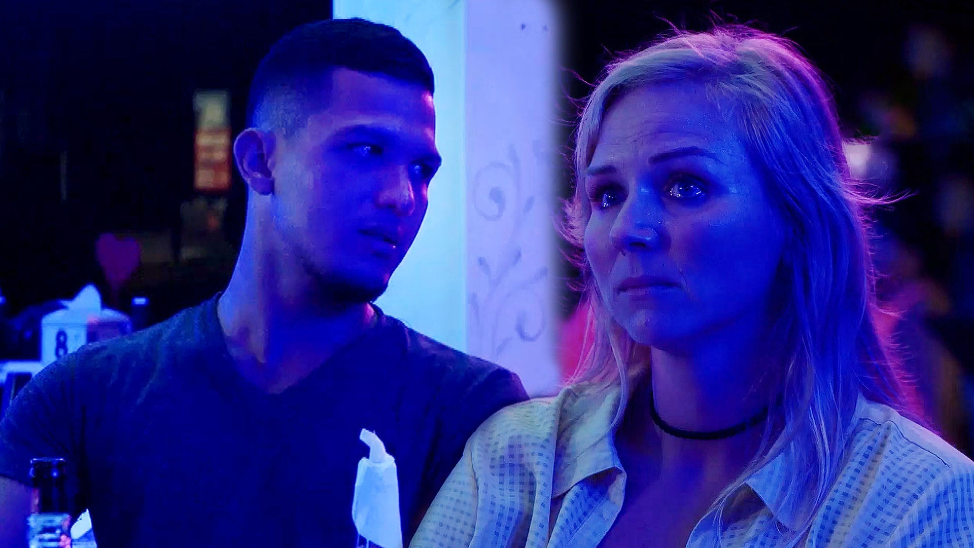 'The Caribbean: A 90 Day Story': Amber Confronts Daniel After He Spoke to Another Woman at the Club