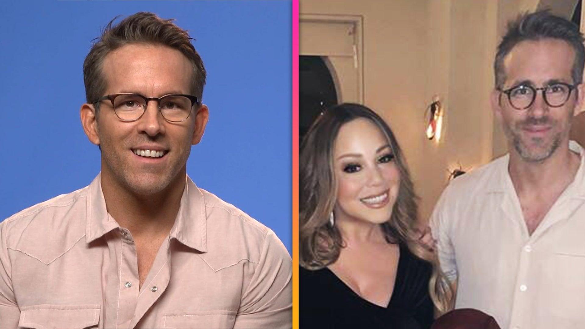 Ryan Reynolds Says He's Part of Mariah Carey's 'Lambily' (Exclusive)