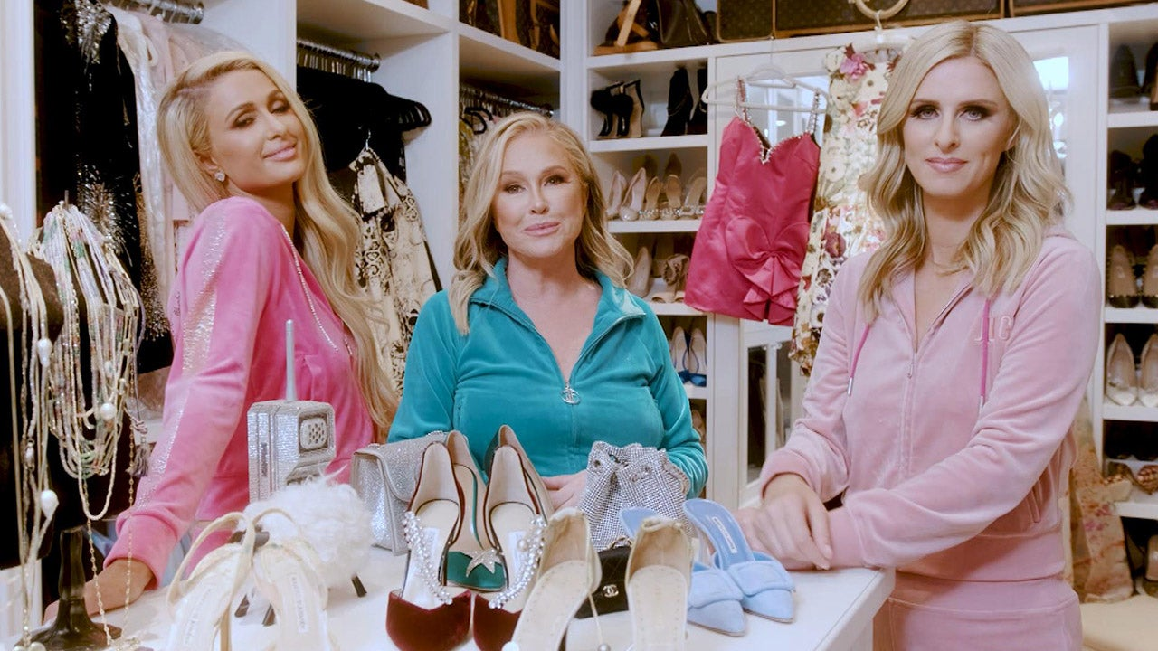 Inside Kathy Hilton's Closet With Daughters Paris and Nicky