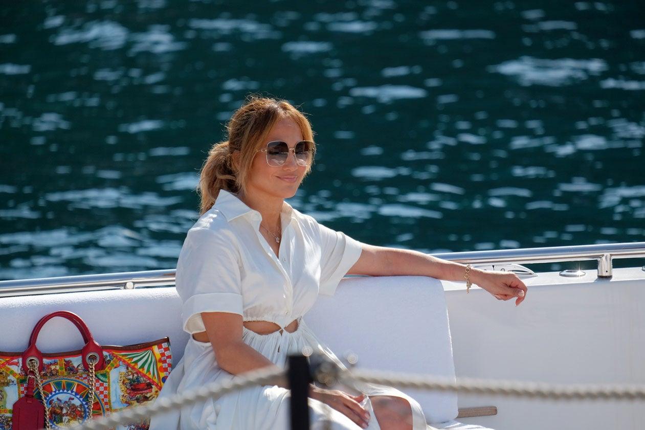 Jennifer Lopez Portofino