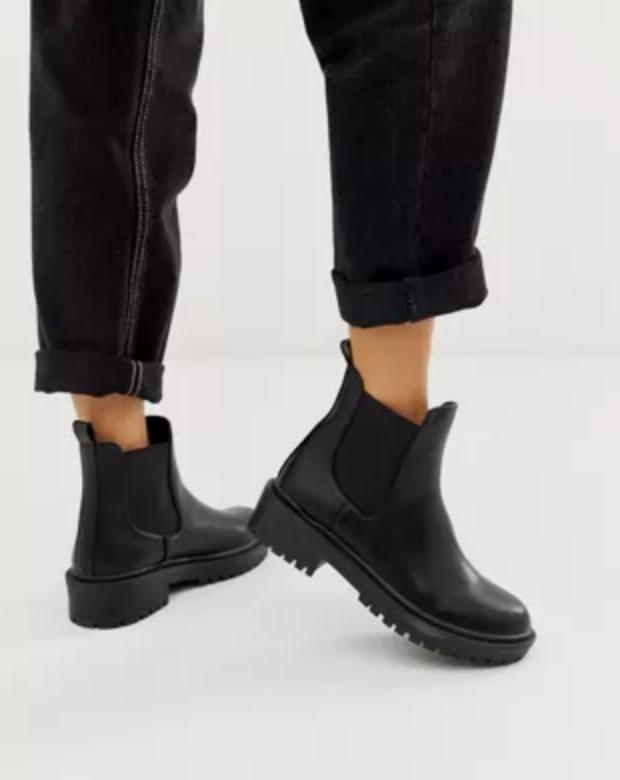 Raid Radar chunky Chelsea boots