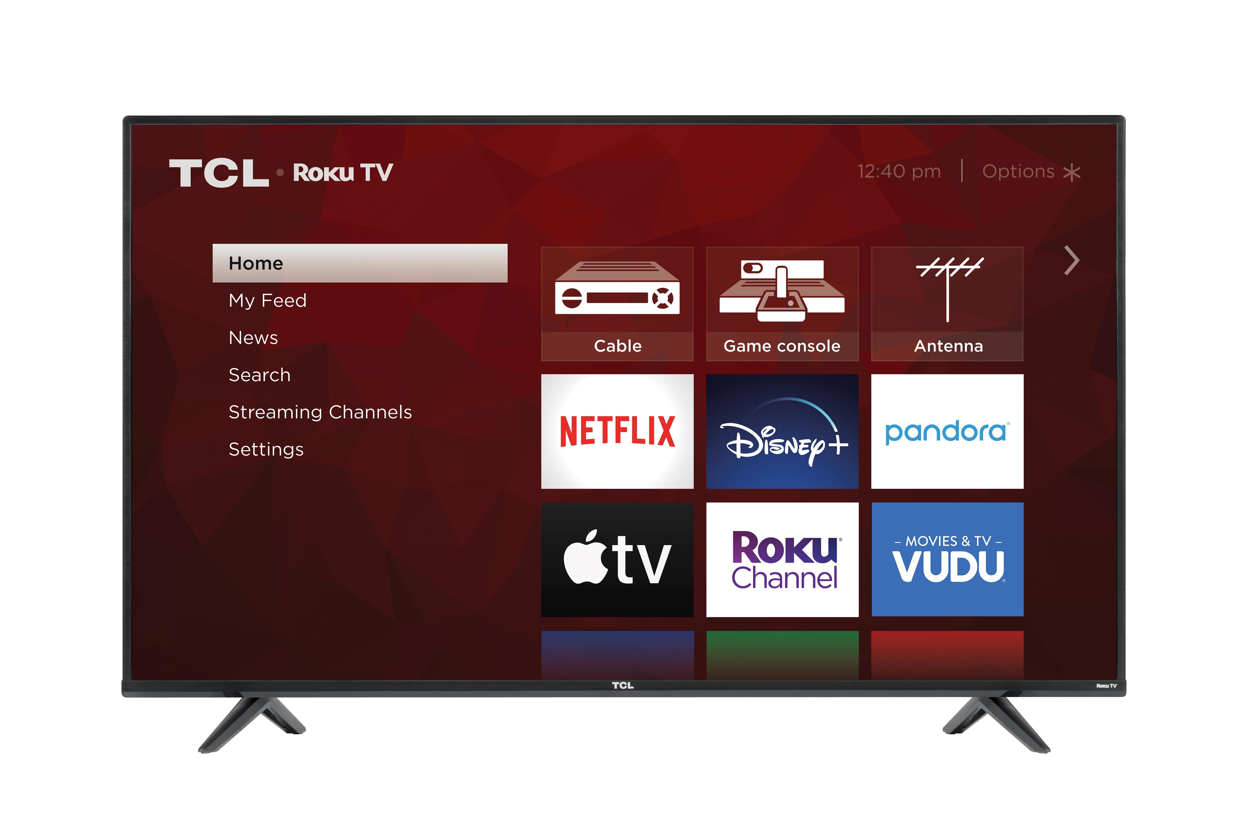 "TCL 55"" Class 4-Series 4K UHD HDR Roku Smart TV"