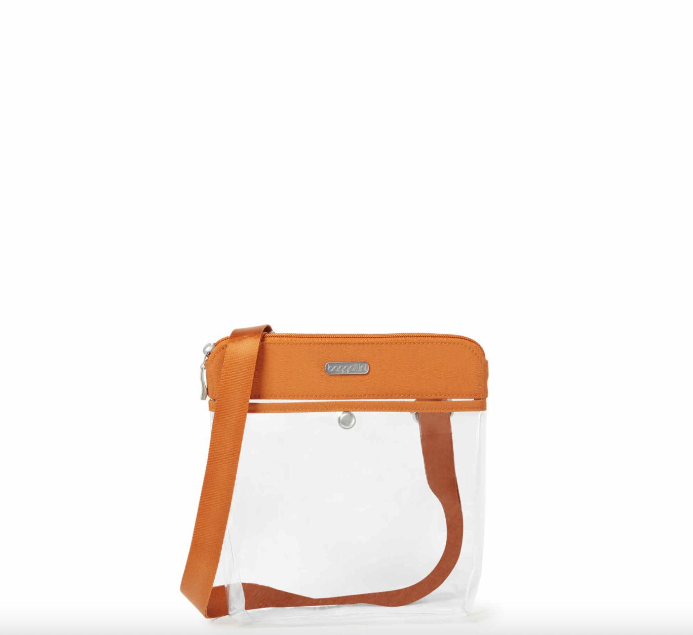Baggallini Clear Pocket Crossbody Bag