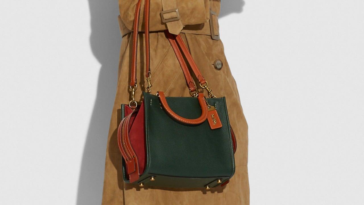 Coach Rogue 25 Handbag in Colorblock