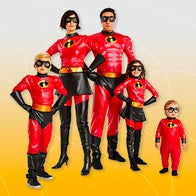 The Incredibles 2 family costume