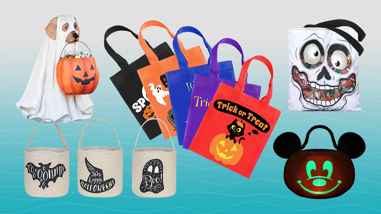 The Best Trick or Treat Bags and Candy Buckets for Halloween