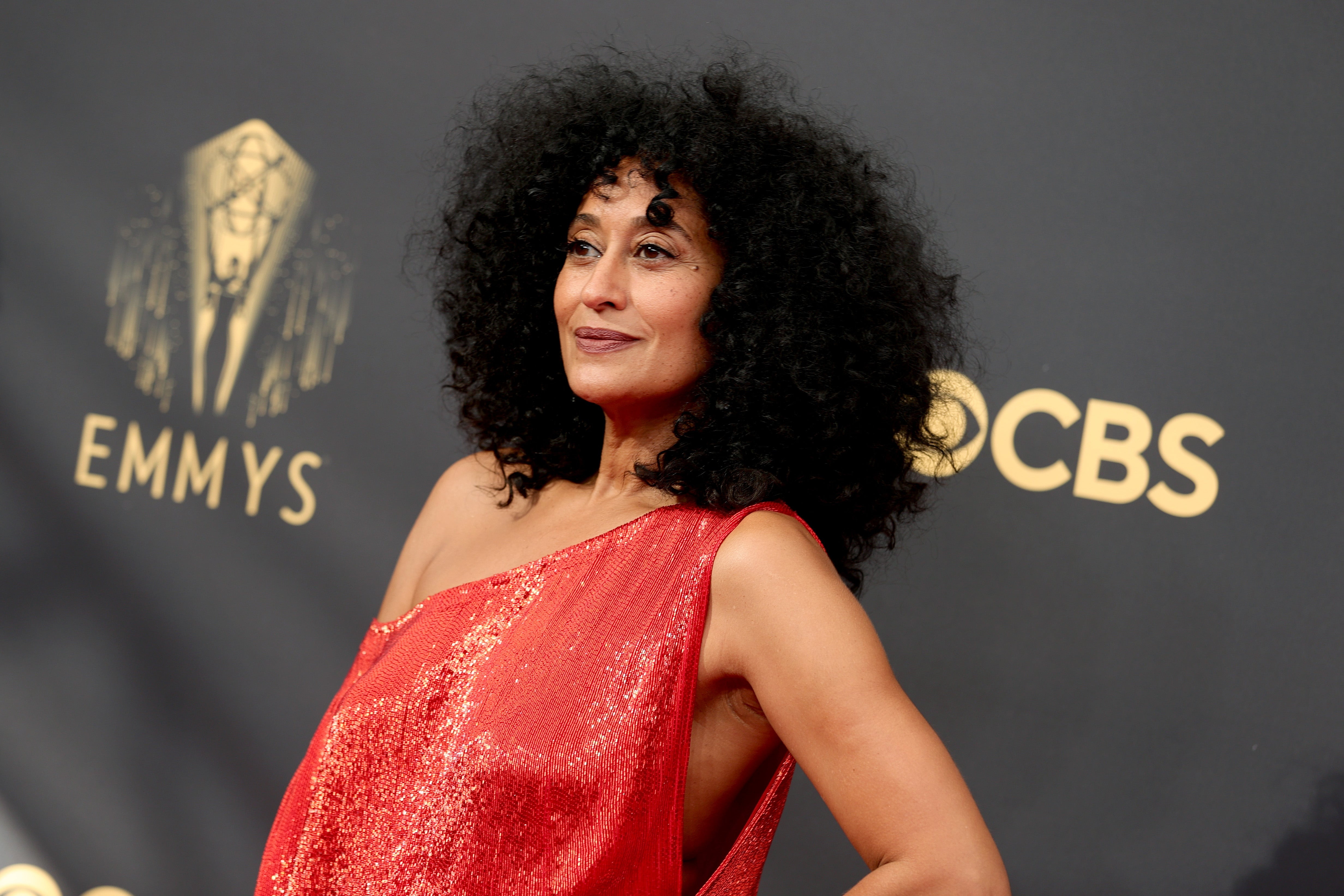 Tracee Ellis Ross attends the 73rd Primetime Emmy Awards at L.A. LIVE on September 19, 2021 in Los Angeles, California.
