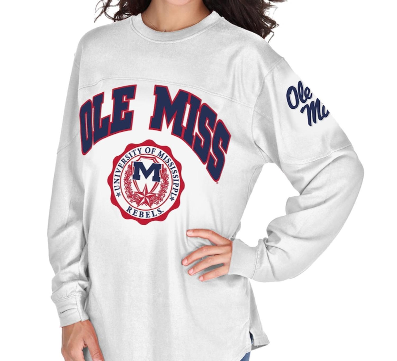 Ole Miss Rebels Women's Edith Long Sleeve T-Shirt