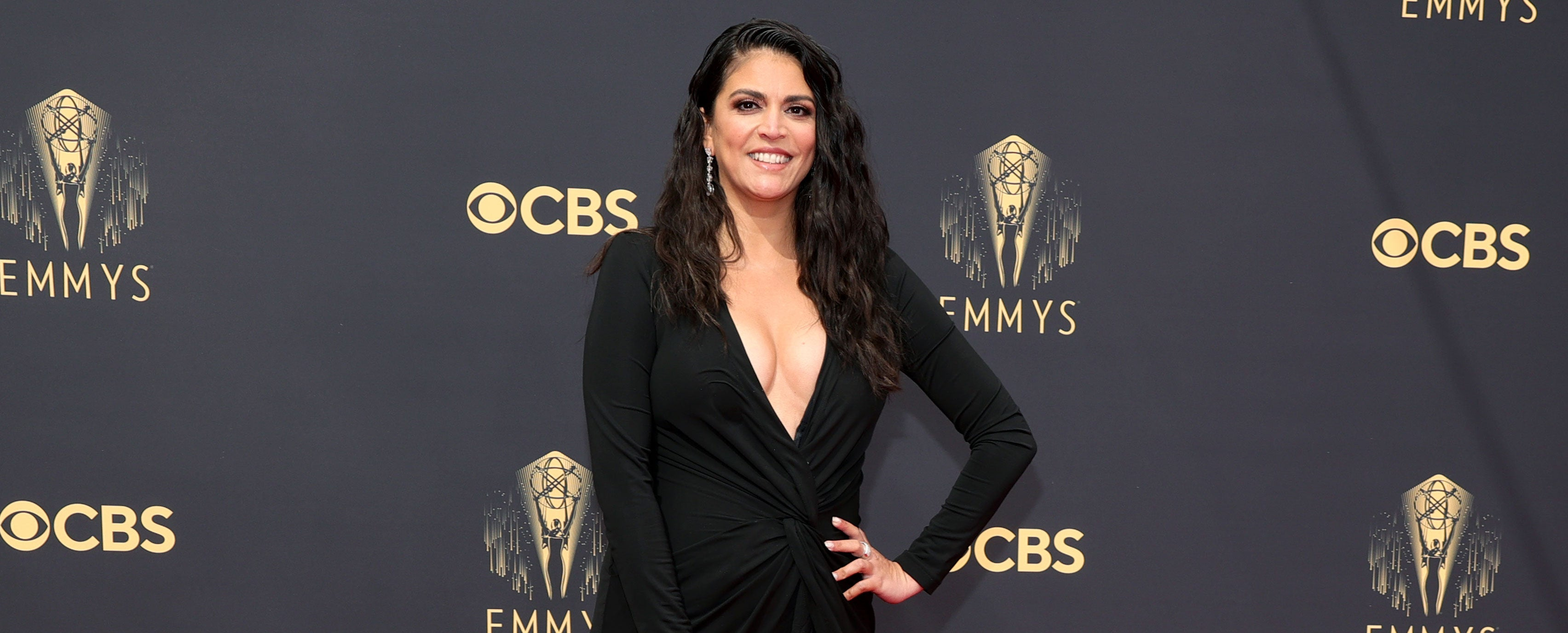 cecily strong at 2021 emmys