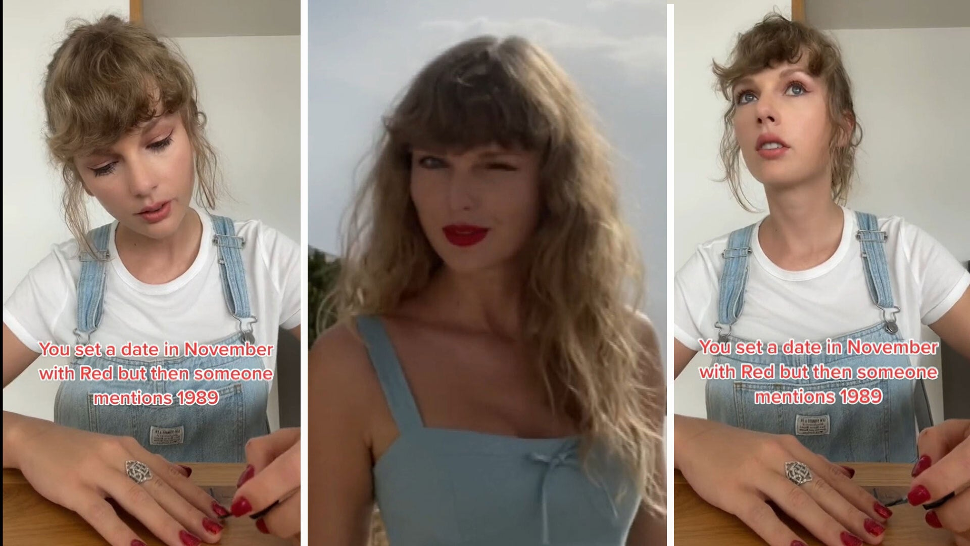 Taylor Swift Does 'Wildest Dreams' TikTok Trend