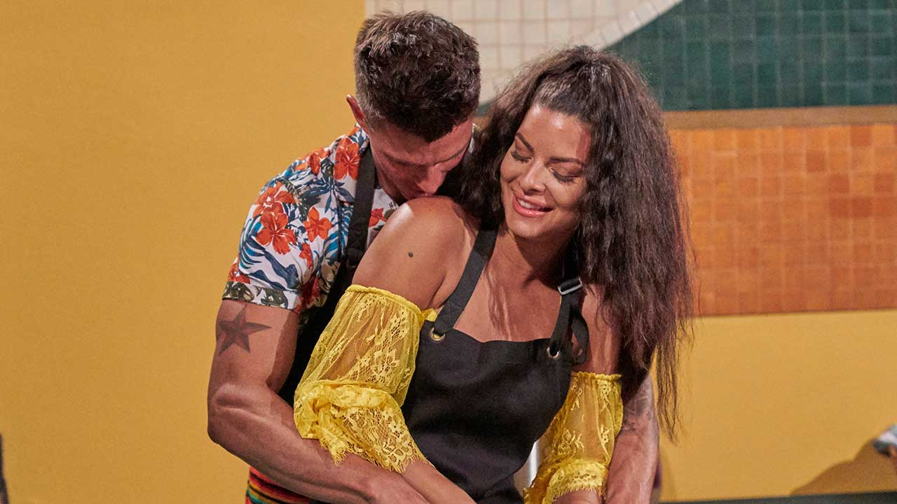 Kenny and Mari on 'Bachelor in Paradise'