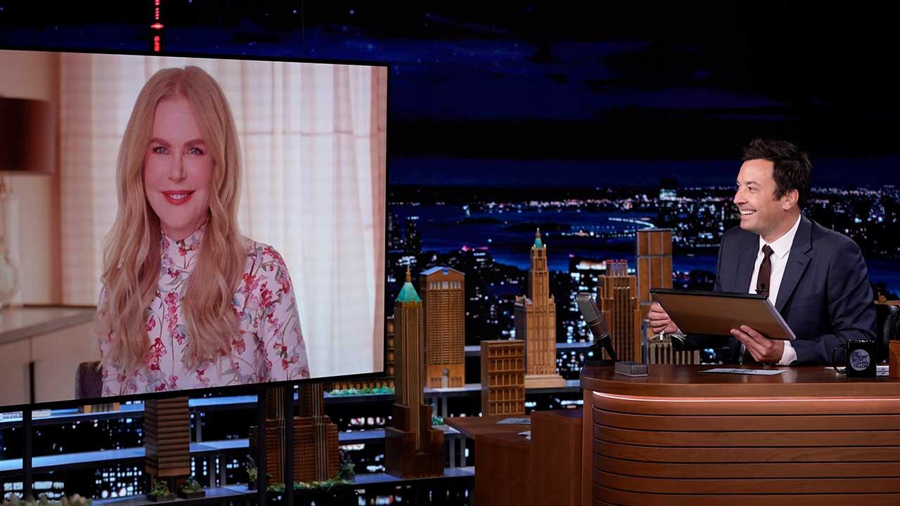 Nicole Kidman and Jimmy Fallon