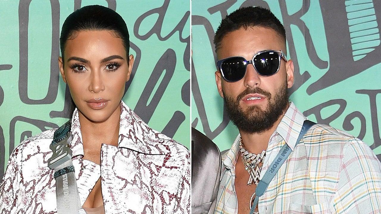 Kim Kardashian and Maluma