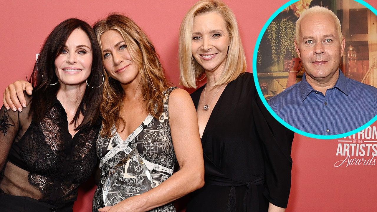 Courteney Cox, Jennifer Aniston and Lisa Kudrow, James Michael Tyler