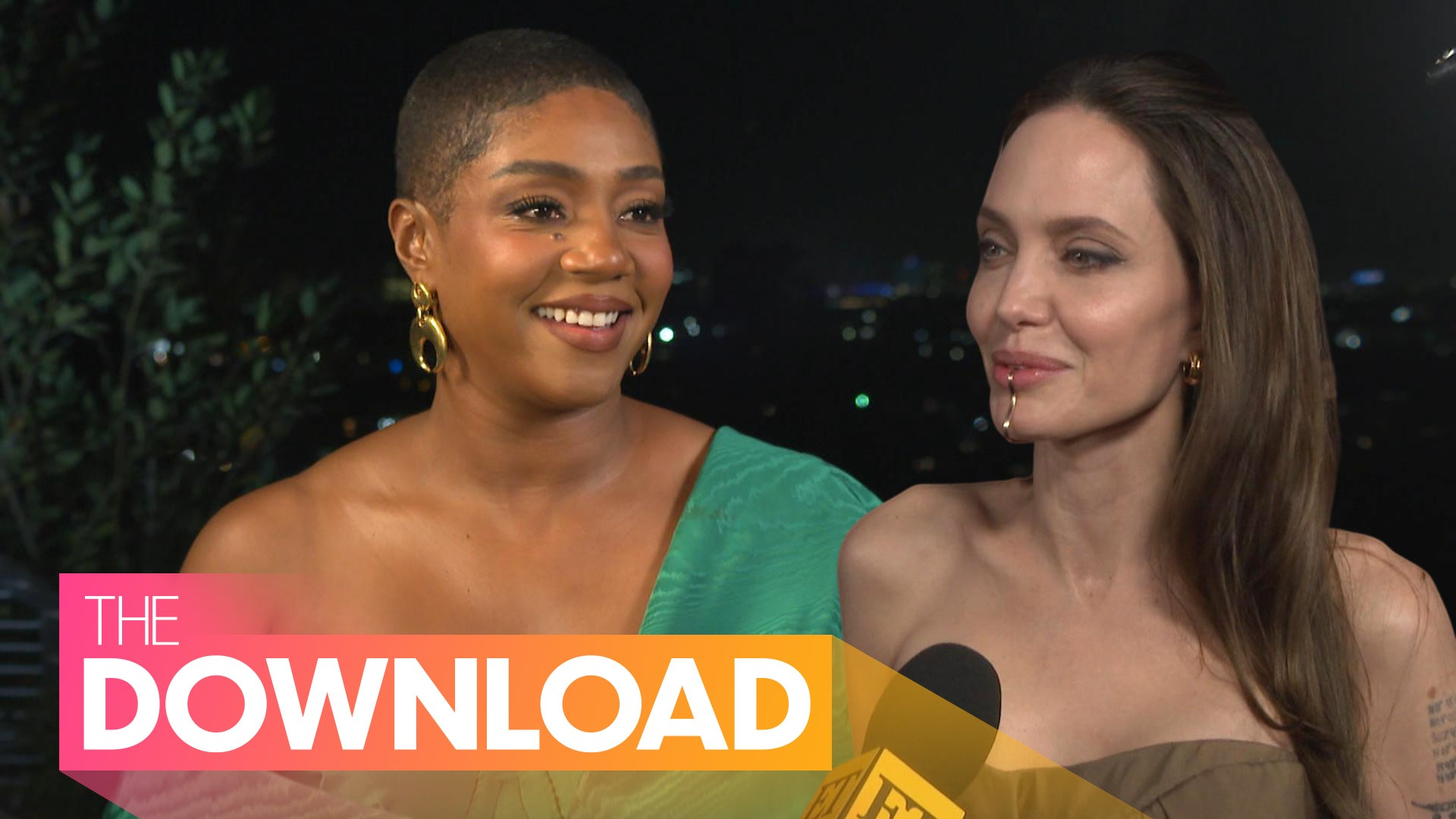 Angelina Jolie and Kids Attend 'Eternals' Premiere, Tiffany Haddish on Taking on a Dramatic Role