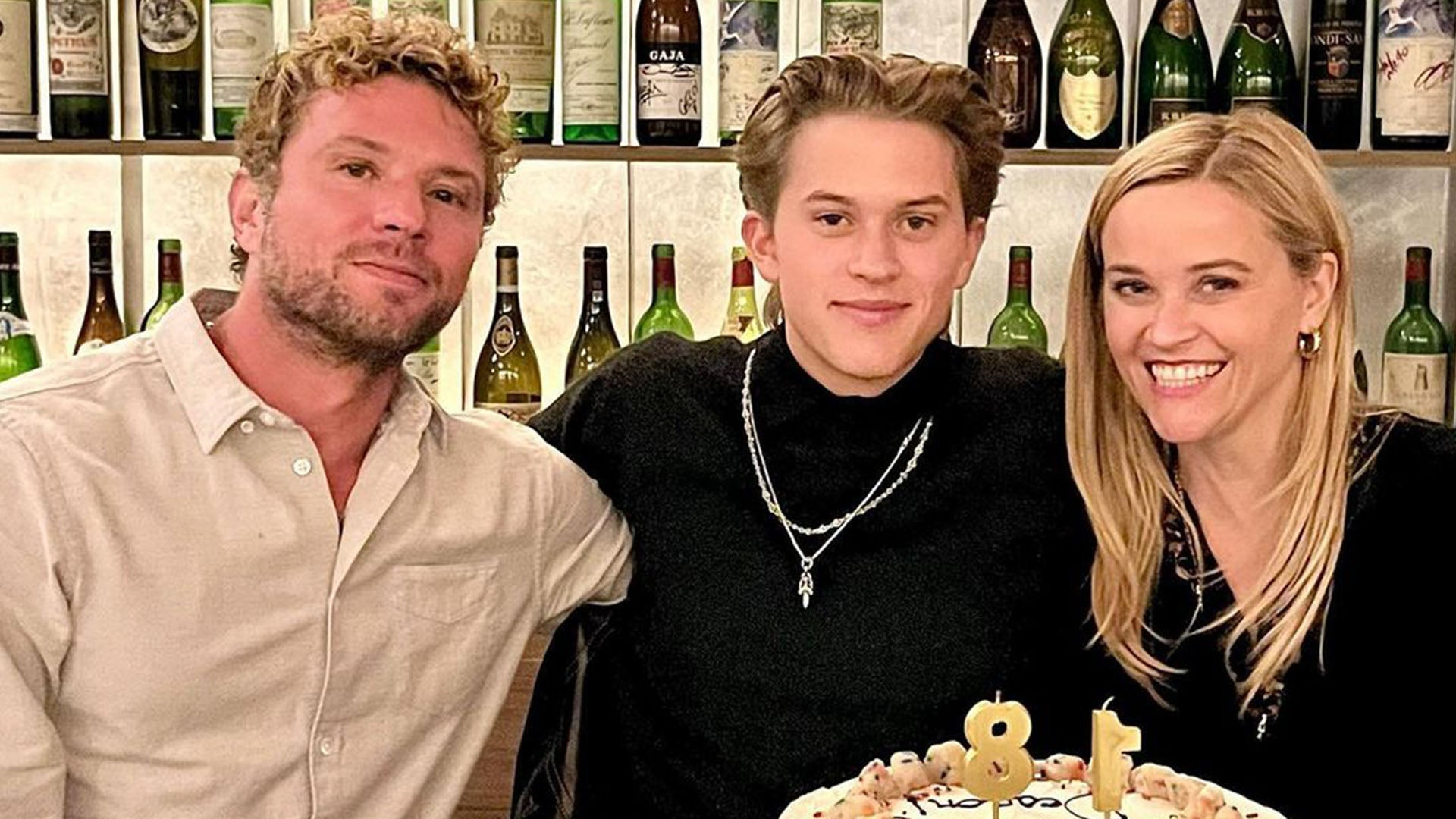 Reese Witherspoon and Ryan Phillippe Reunite for Son Deacon's Birthday!