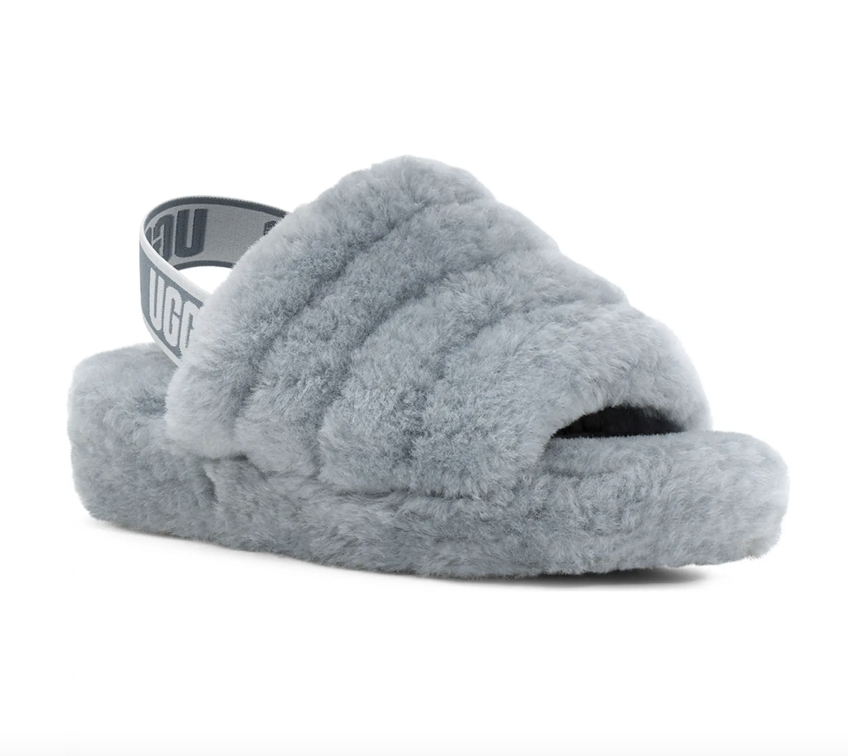 Fluff Yeah Genuine Shearling Slingback Sandal