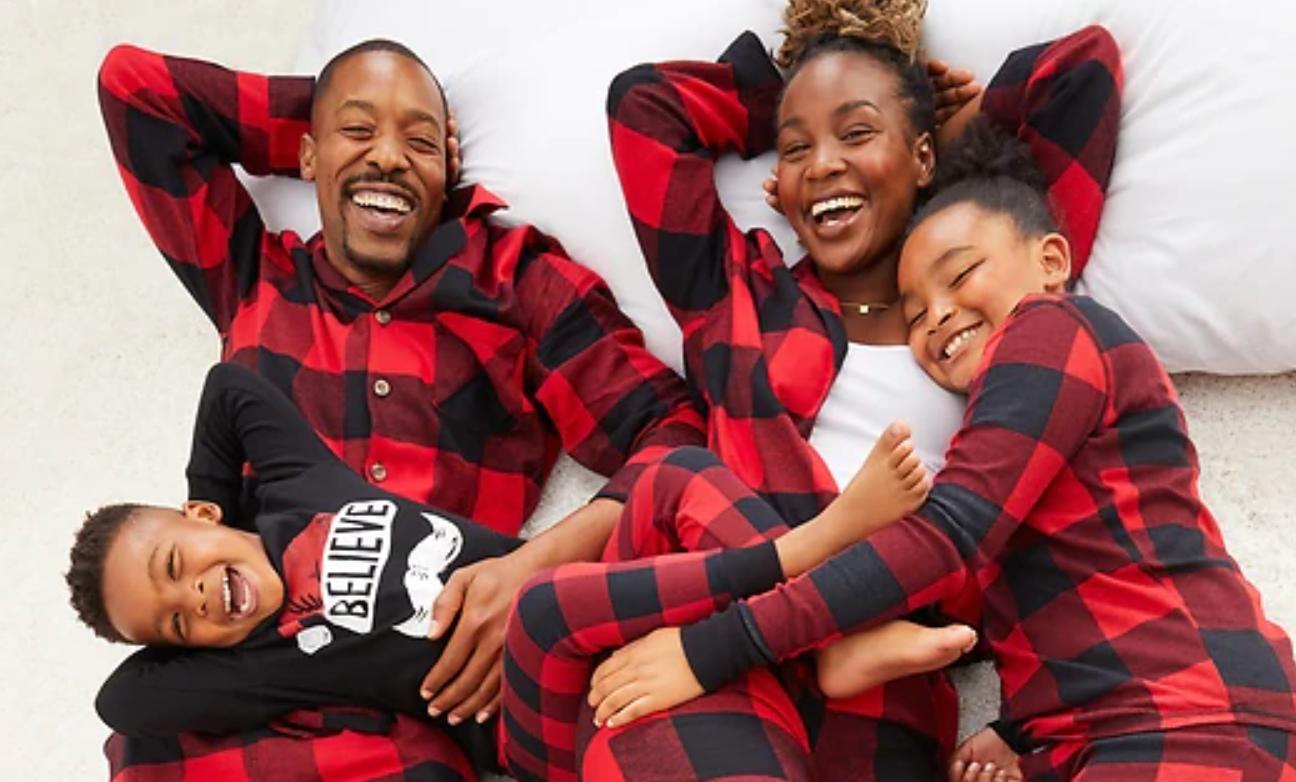 Old Navy holiday pajamas