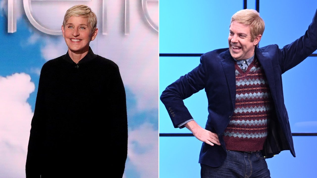 Ellen DeGeneres and Jason Sudeikis