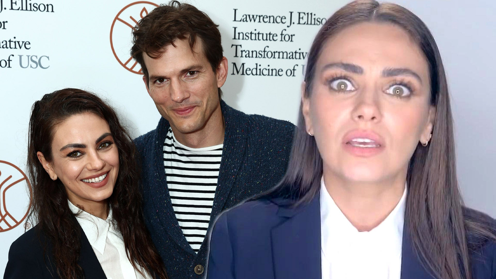 Mila Kunis Got Called Out By Ashton Kutcher for a 'Parenting Fail'