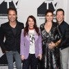 Eric McCormack, Megan Mullally, Debra Messing and Sean Hayes