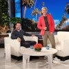 Mark Wahlberg and Ellen DeGeneres