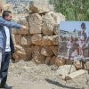 Prince William, Duke of Cambridge and the Crown Prince Hussain look at a family picture of his wife Kate Middleton visiting the same spot at the Jerash archaeological site, a beautifully preserved Roman ruin, dating back to the first century on the second day of his tour of Jordan. Prince William's five-day tour of the region is his most high-profile foreign trip and the first official visit to Israel and the Occupied Palestinian Territories by a member of the monarchy on behalf of the Government.
