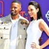 Jamie Foxx and daughter Corinne Foxx at the 2018 BET Awards in LA on June 24