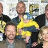 Aaron Paul and Daughter Breaking Bad Reunion