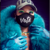 Lizzo Vote Face Mask
