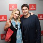 Jason Biggs and wife Jenny Mollen at US Open