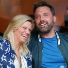 Ben Affleck and Lindsay Shookus at the US Open