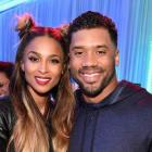Ciara and Russell Wilson at the Nickelodeon Kids' Choice Sports Awards 2016