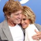 Jane Fonda and Robert Redford at 2017 Venice Film Festival