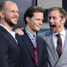 Gustaf, Bill, and Alexander Skarsgard at 'It' premiere