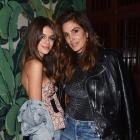 Kaia Gerber and Cindy Crawford at NYFW