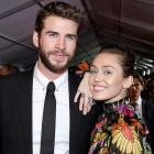 Liam Hemsworth and Miley Cyrus attend 'Thor' premiere