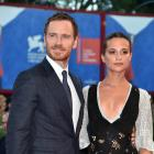 Michael Fassbender and Alicia Vikander