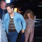 Ryan Gosling and Eva Mendes attend the SNL after-party 9/30/17
