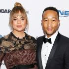 Chrissy Teigen and John Legend in DC